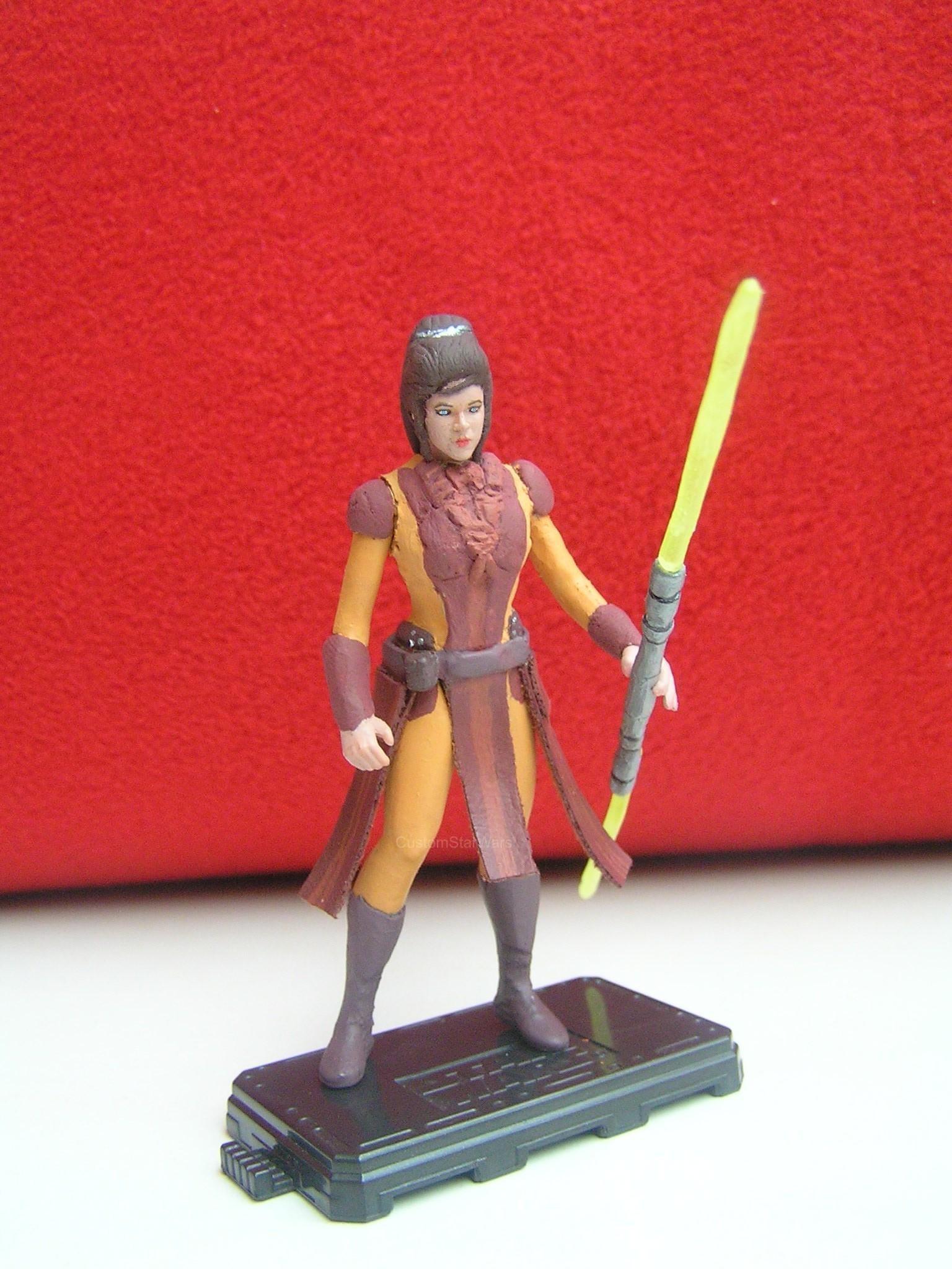 Bastila Shan Custom Figure And Her Story
