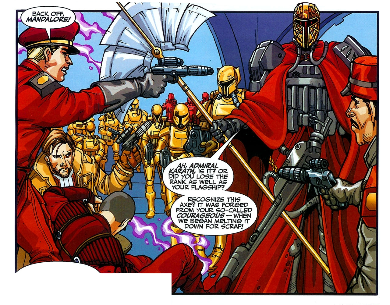 carth_karath_mandalore_comic book scene