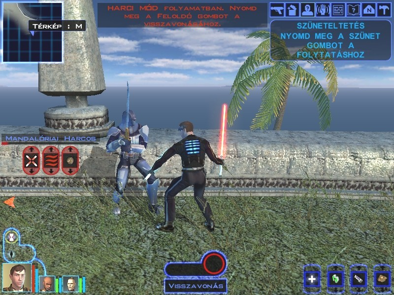 Revan against mandalorian cloaked unit