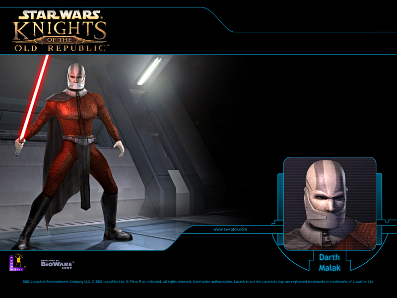 Darth Malak badguy of KotOR1