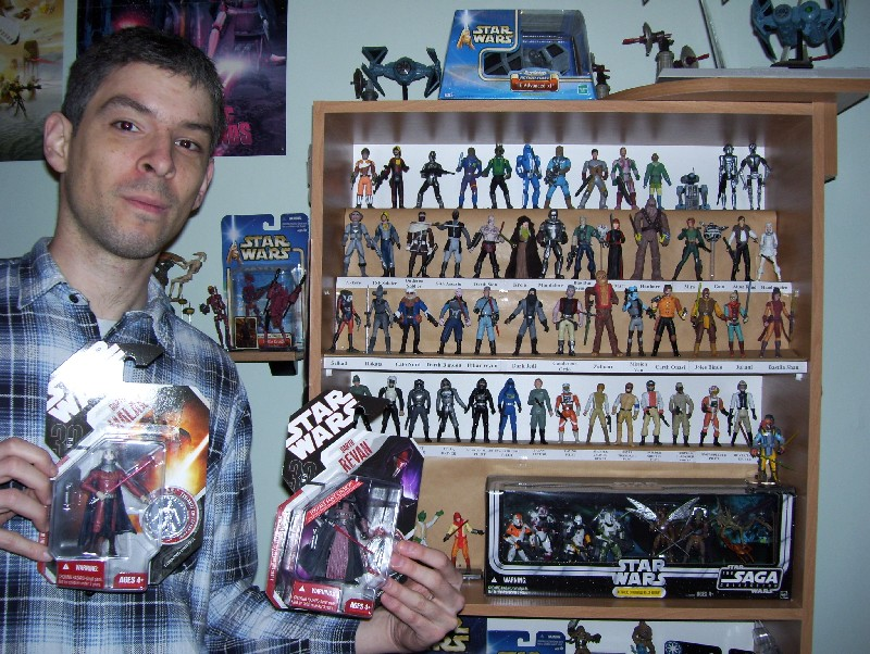 Norbert Rostas and his custom figures