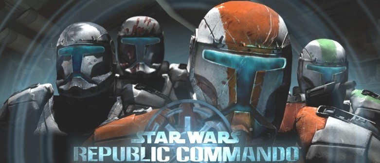 opening screen of republic commando